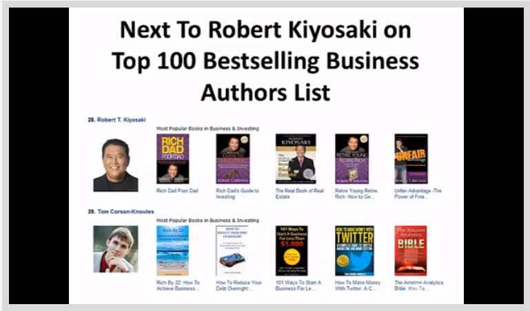 How To Become a Bestselling Author on Amazon Kindle Screenshot
