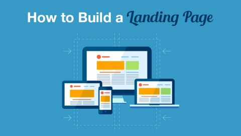 How to Build a Landing Page Screenshot