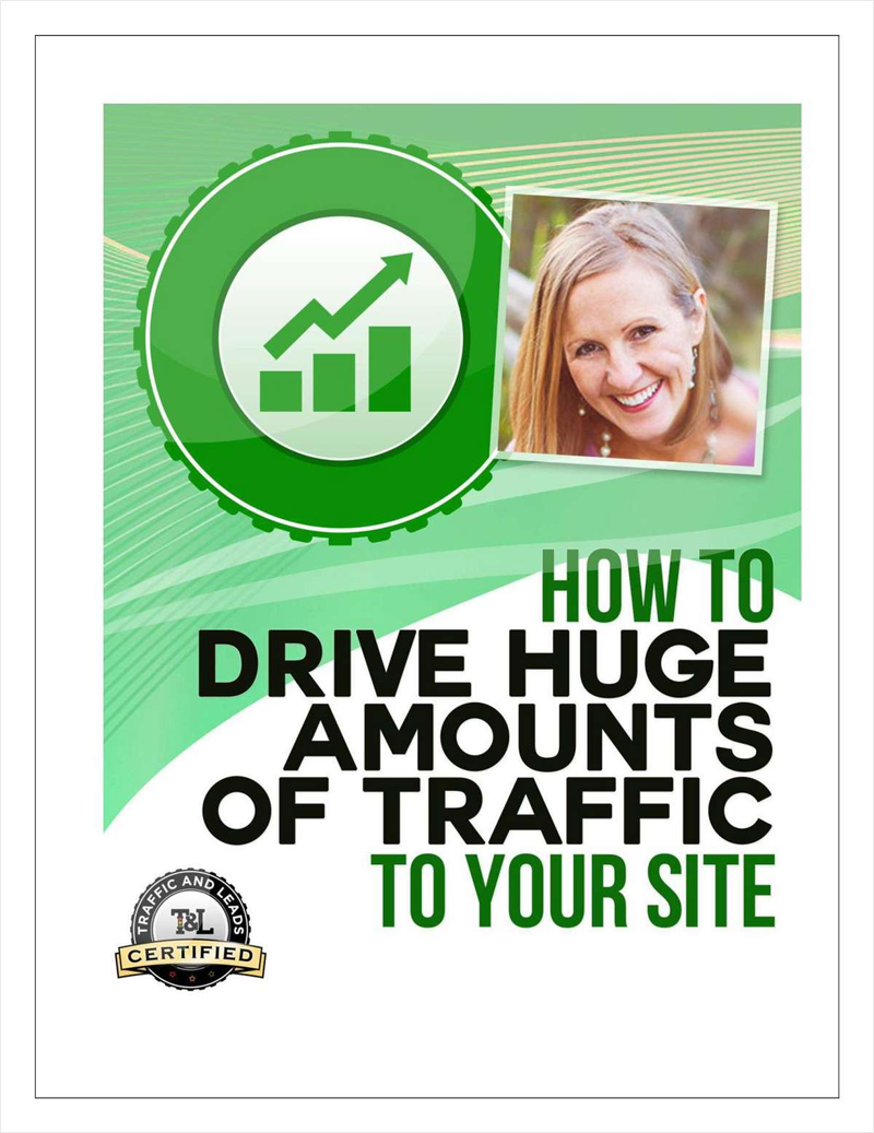 How to Drive Huge Amounts of Traffic to Your Site Screenshot