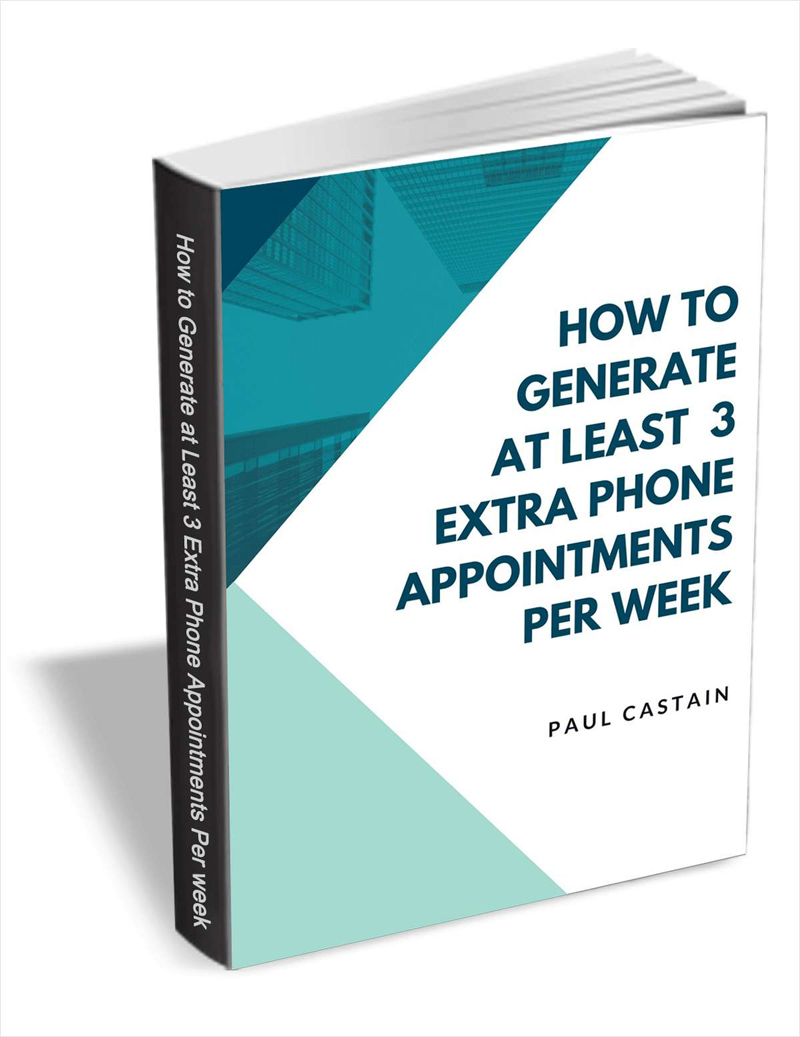 How to Generate At Least 3 Extra Phone Appointments Per Week Screenshot