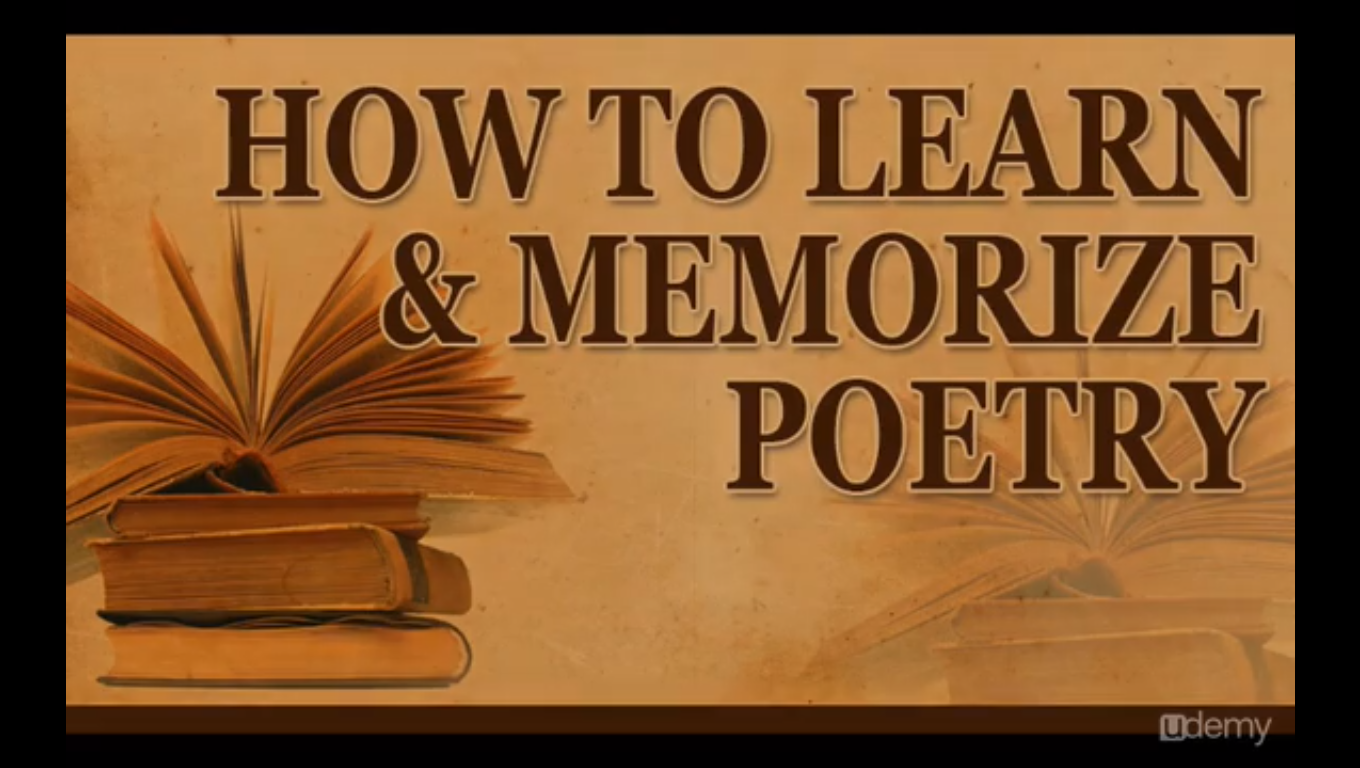 How to Learn and Memorize Poetry Screenshot
