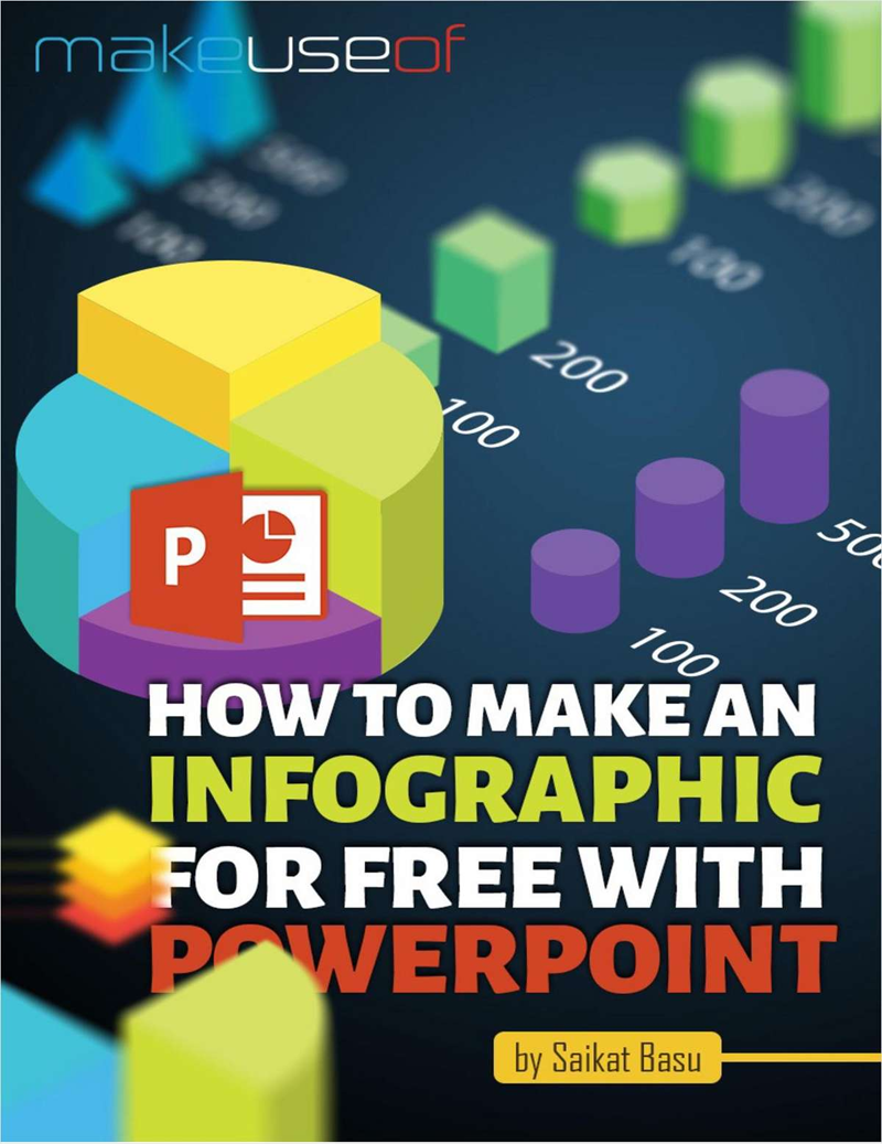 How to Make an Infographic for Free with PowerPoint Screenshot