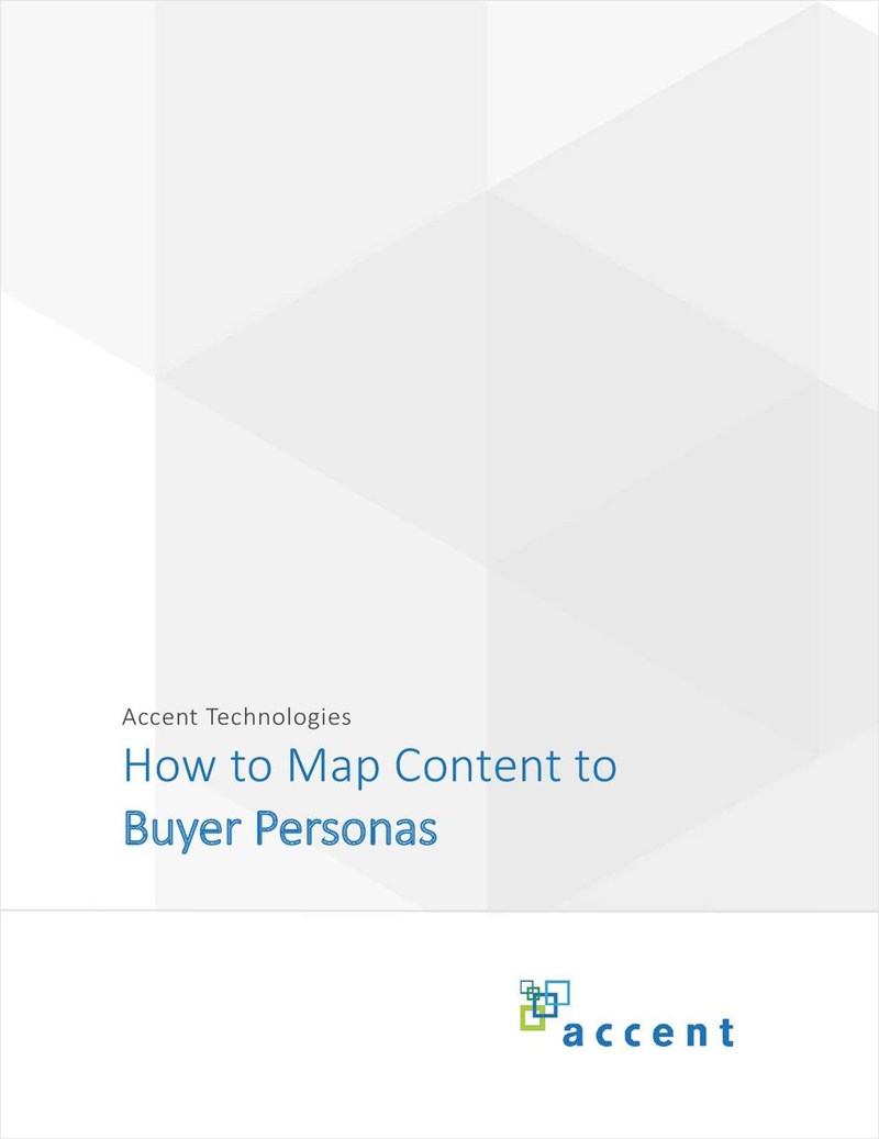 How to Map Content to Buyer Personas Screenshot