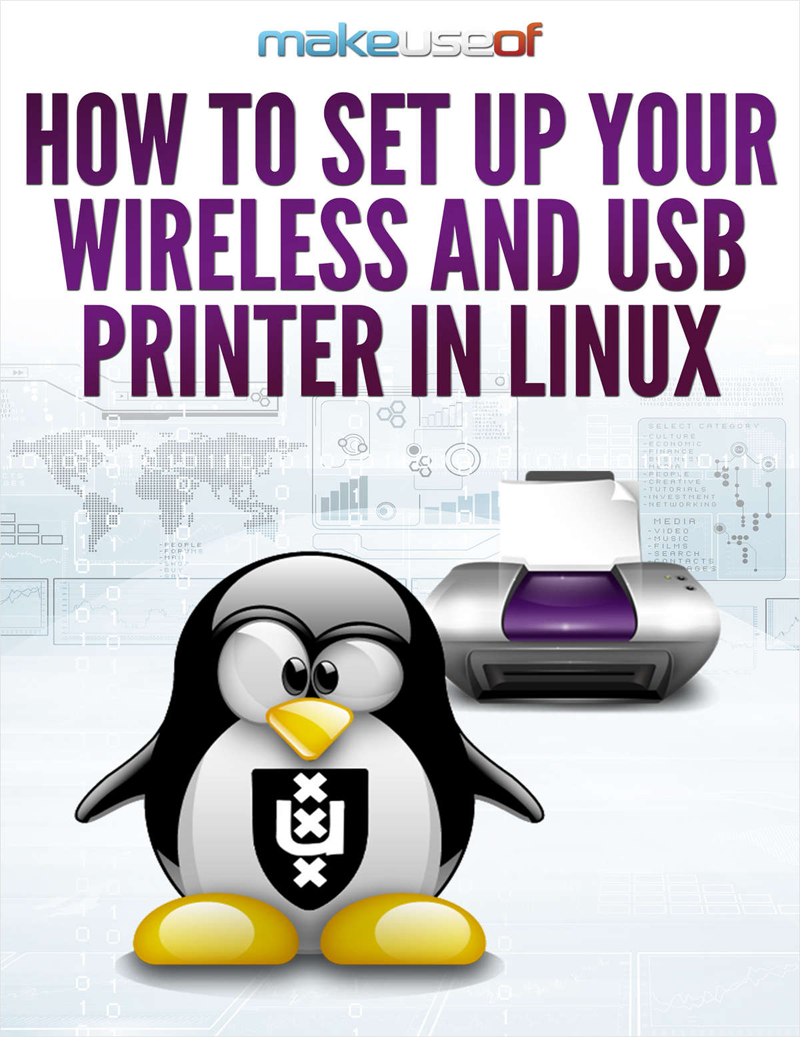 How to Set Up Your Wireless and USB Printer in Linux Screenshot