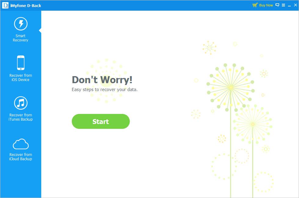 iMyfone D-Back Screenshot