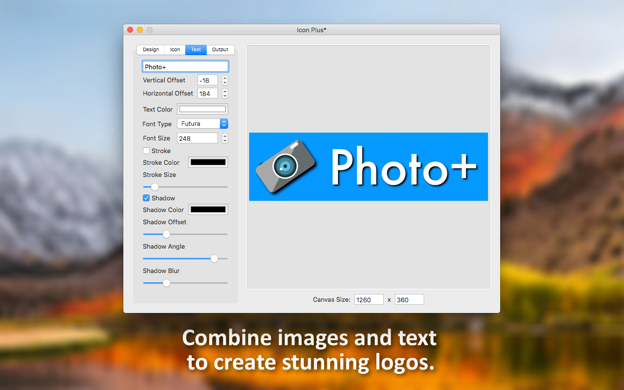Icon Plus, Design, Photo & Graphics Software Screenshot