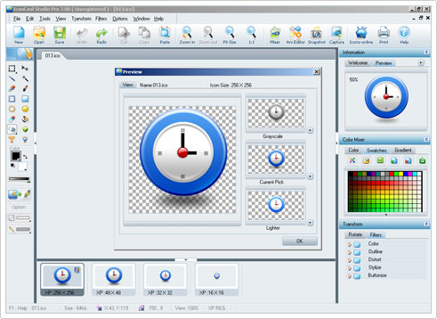 IconCool Studio Pro Screenshot 9