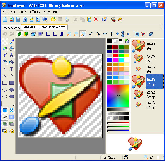 IconLover Screenshot