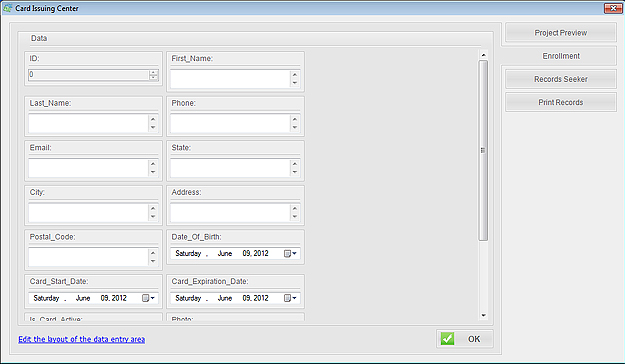 ID Card Workshop - Single User Full License, Business Management Software Screenshot