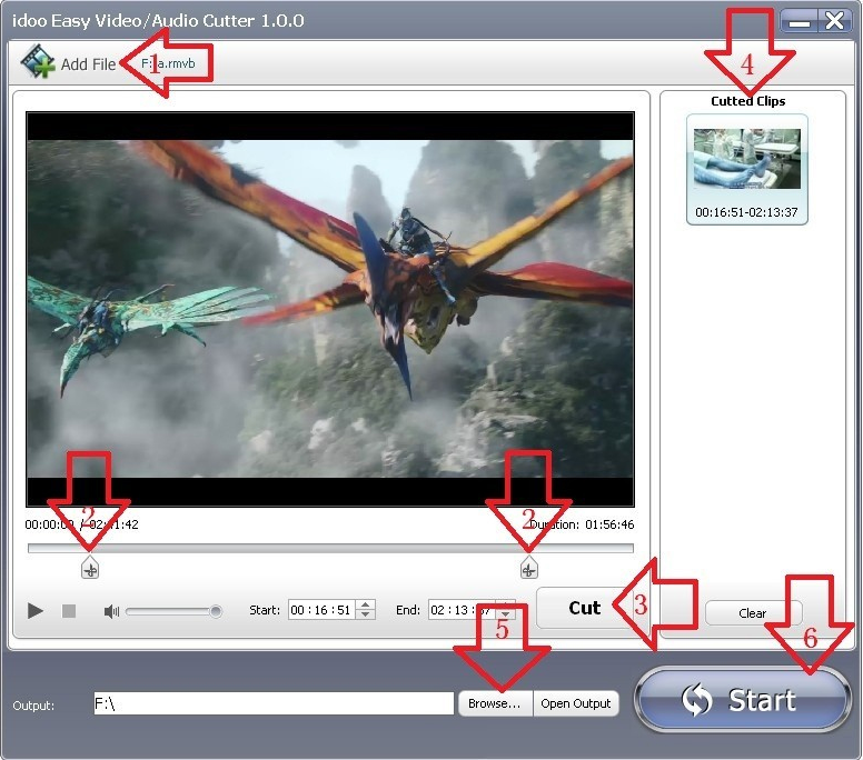idoo Video Editor Pro Screenshot