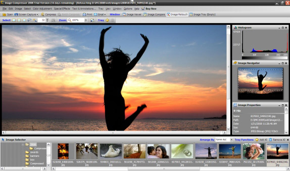 Image Compressor 2008 Pro Edition Screenshot