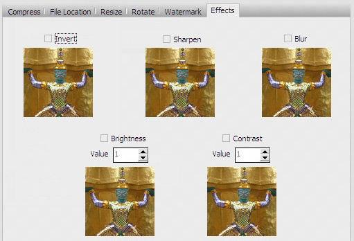 Image Compressor 2008 Pro Edition Screenshot 8