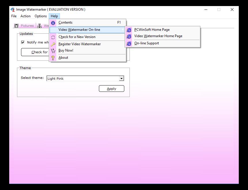 Batch Image Software, Image Watermarker Screenshot