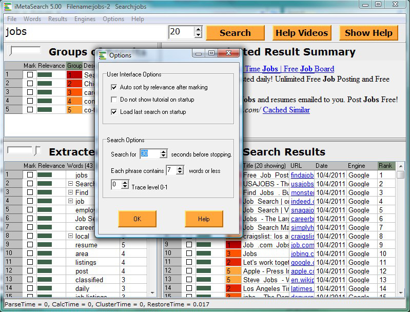 iMetaSearch Pro Screenshot