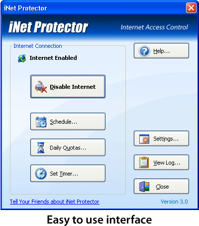 iNet Protector Screenshot