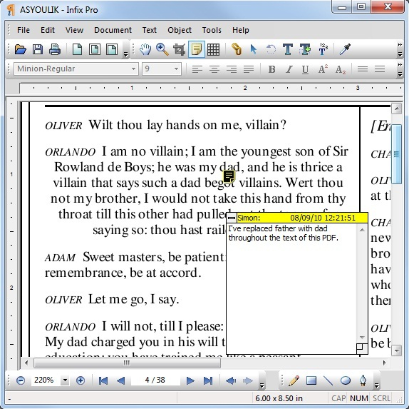 Infix Pro PDF Editor, PDF Utilities Software Screenshot