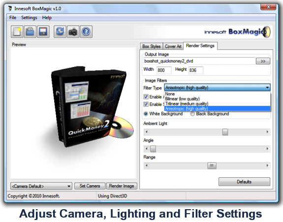 Innesoft BoxMagic Screenshot