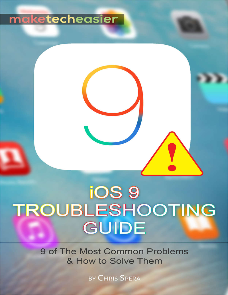 iOS 9 Troubleshooting Guide Screenshot