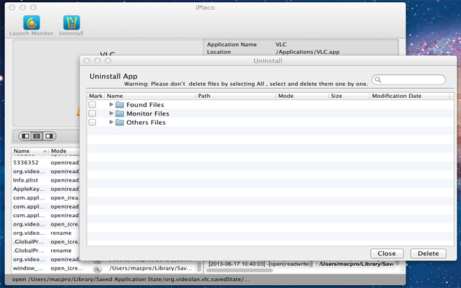 iPleco, System Stability Software Screenshot
