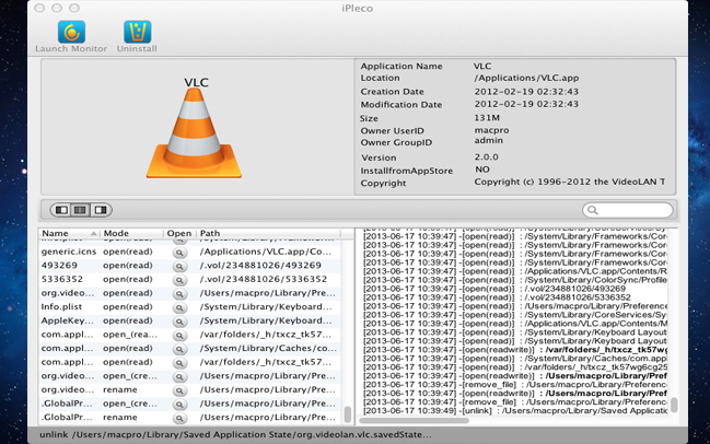 System Stability Software Screenshot