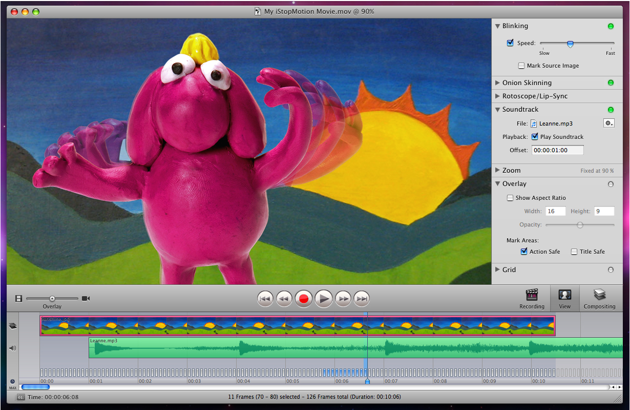 how to make a stop motion video on a mac