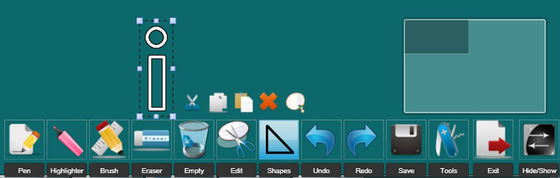 Presentation Software, iWiiBoard Whiteboard Software Screenshot