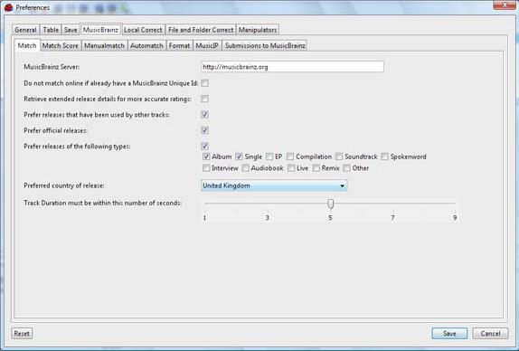 Audio Software, Jaikoz Audio Tagger Screenshot