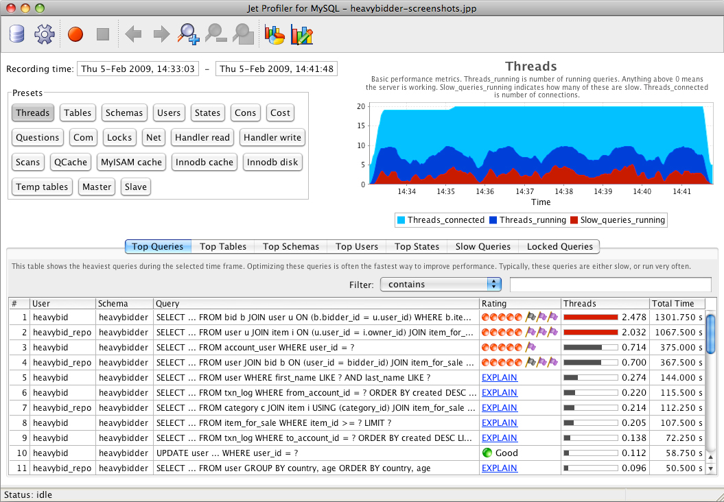 Database Management Software Screenshot