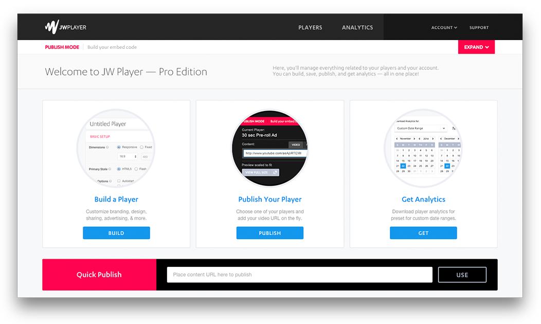 JW Player Pro Screenshot