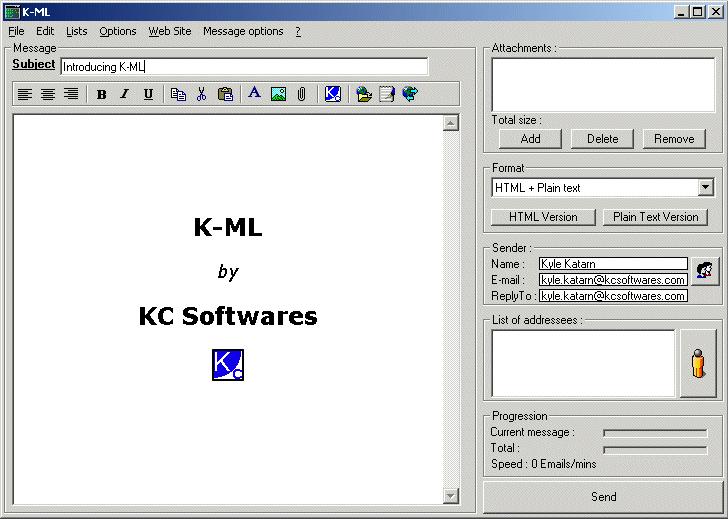 K-ML – 联系列表管理器丨反斗限免