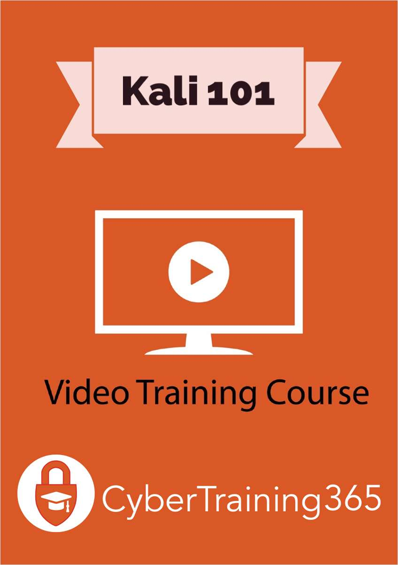 Kali 101 - FREE Video Training Course (a $19 value!) Screenshot