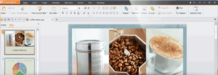 Word Processing Software, Kingsoft Office Suite Professional 2013 (One Year) Screenshot
