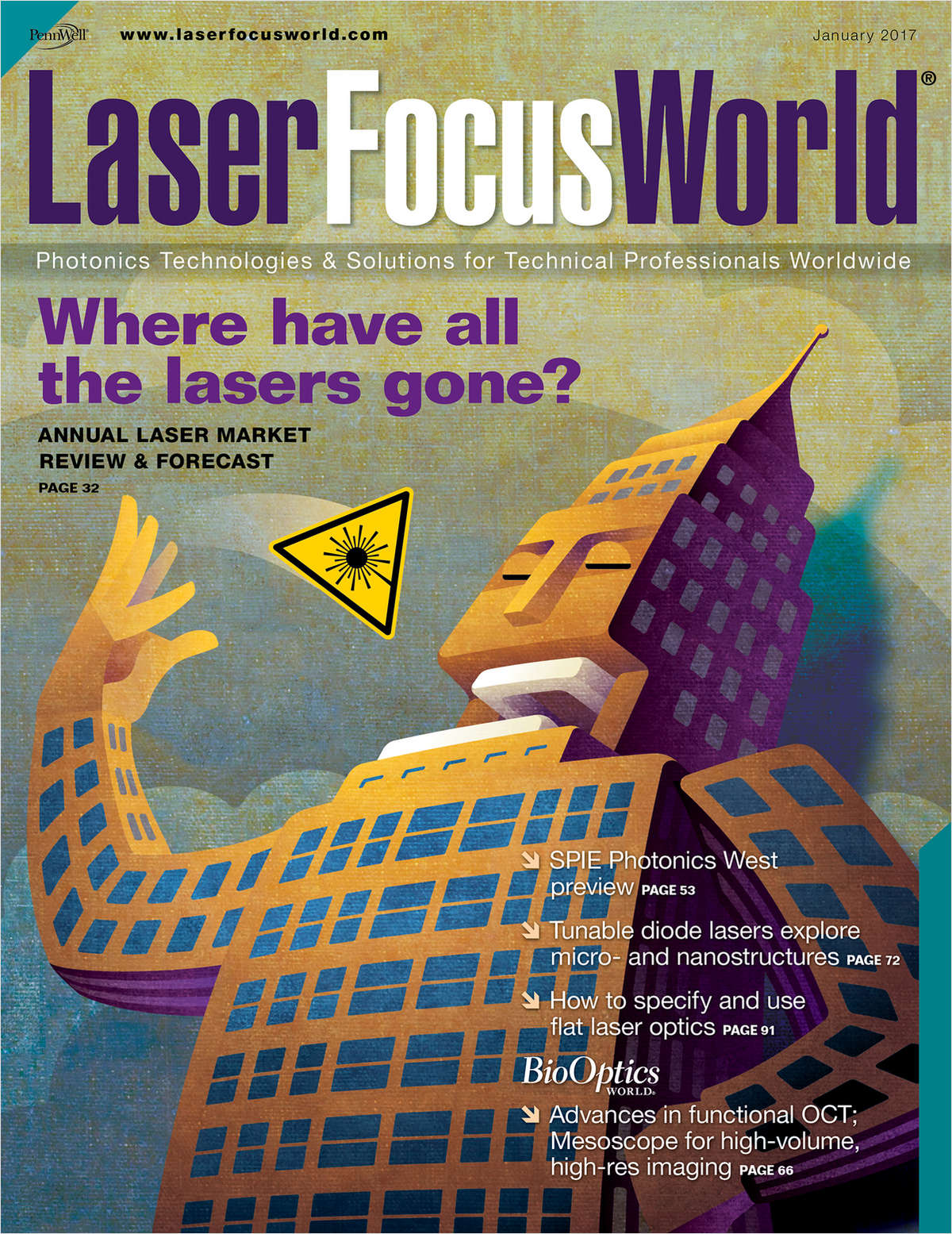Laser Focus World Screenshot