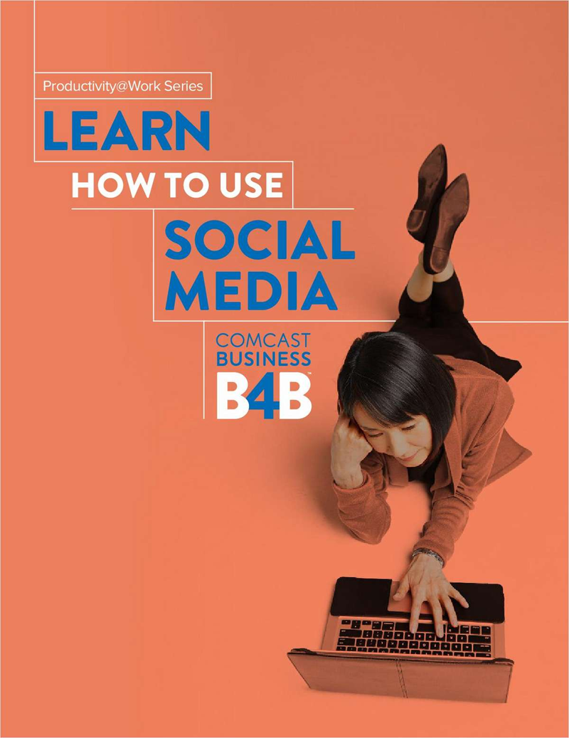 Learn How to Use Social Media (White Paper) Screenshot