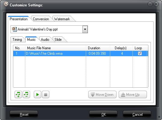 Leawo PowerPoint to Video Converter Pro, Business & Finance Software Screenshot