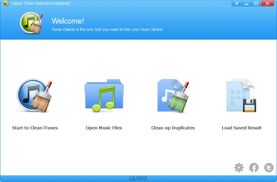 Leawo Tunes Cleaner Win & Mac Screenshot