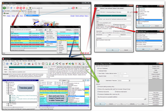 Linkman Pro (2 Computer License) Screenshot