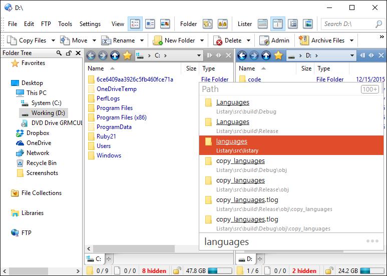Listary Pro Screenshot 8