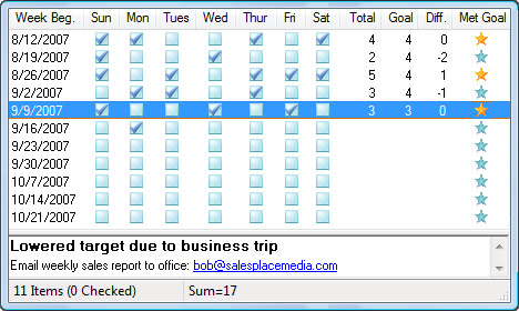 ListPro, To-Do List Software Screenshot