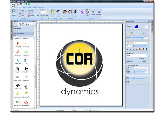 Logo Design Studio 4.0 for PC Screenshot