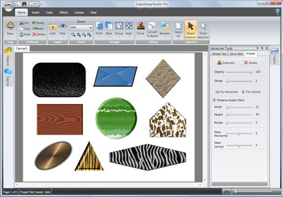 Icons Software, Logo Design Studio Pro Vector Screenshot