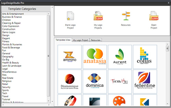 Icons Software Screenshot