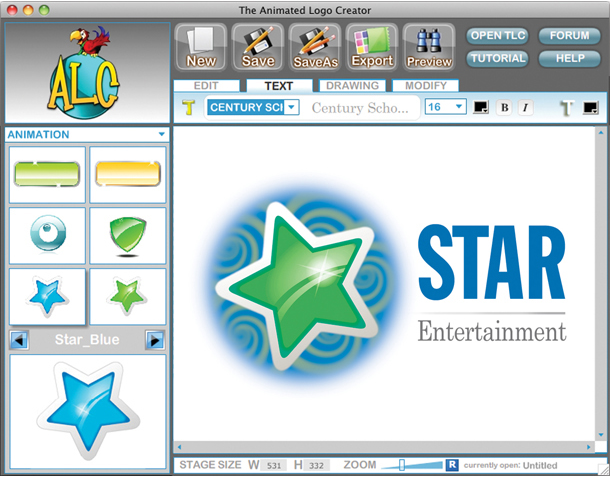Logo Designer, Business Management Software Screenshot