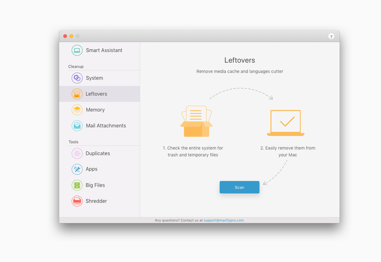 Software Utilities, MacFly Pro Screenshot