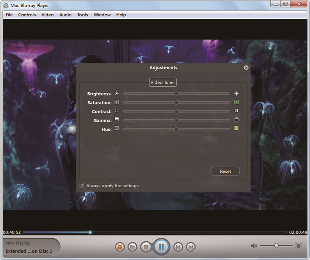 Macgo Windows Blu-ray Player, Video Player Software Screenshot