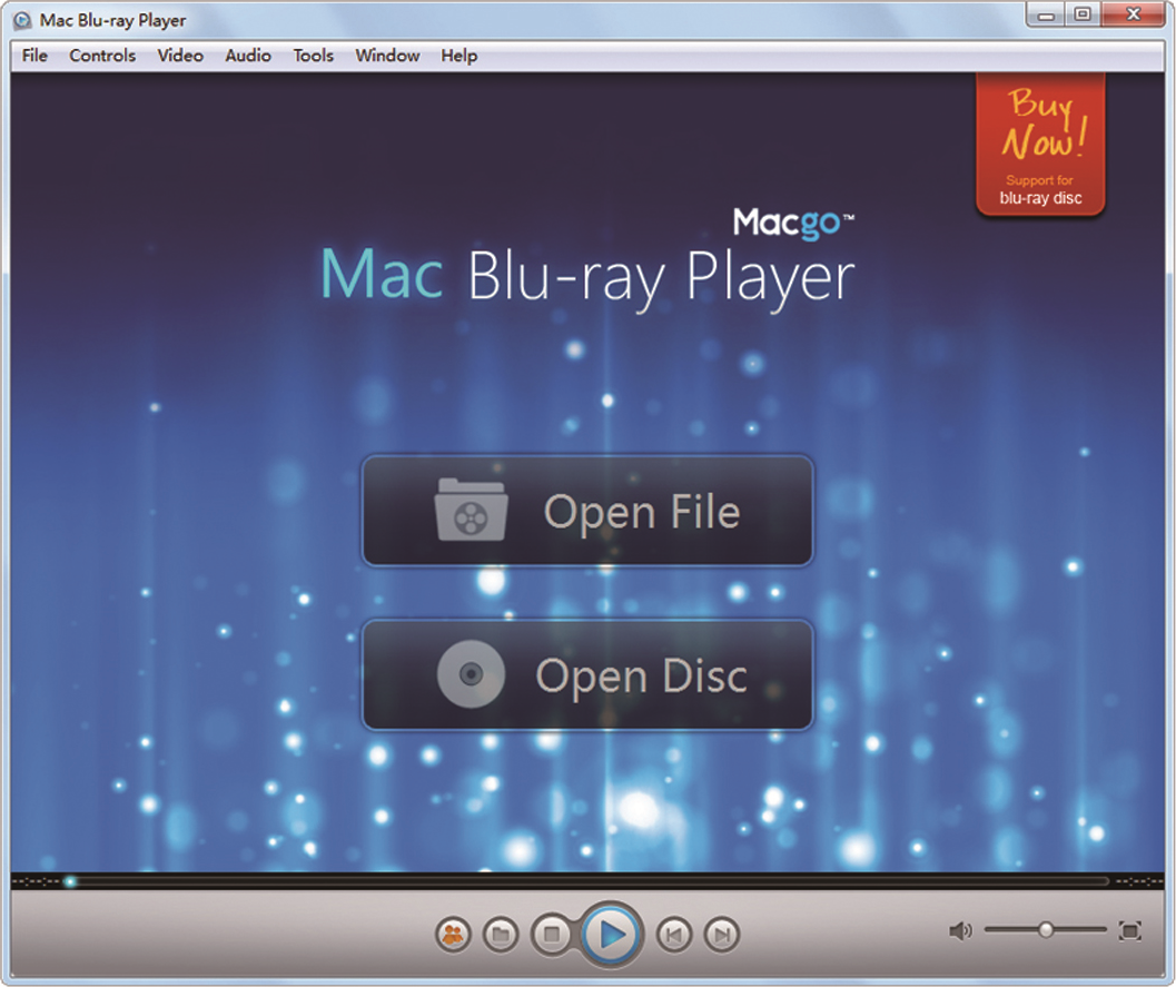 Macgo Windows Blu-ray Player Screenshot