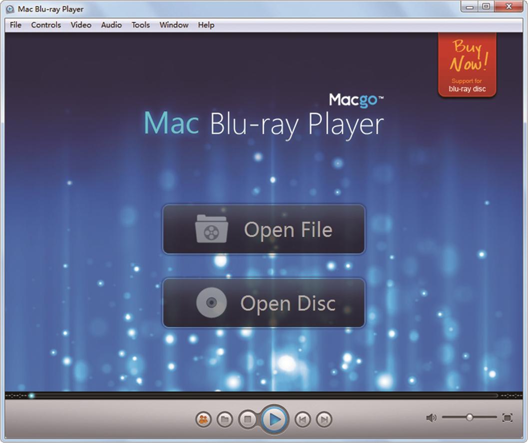 Macgo Windows Blu-ray Player Screenshot