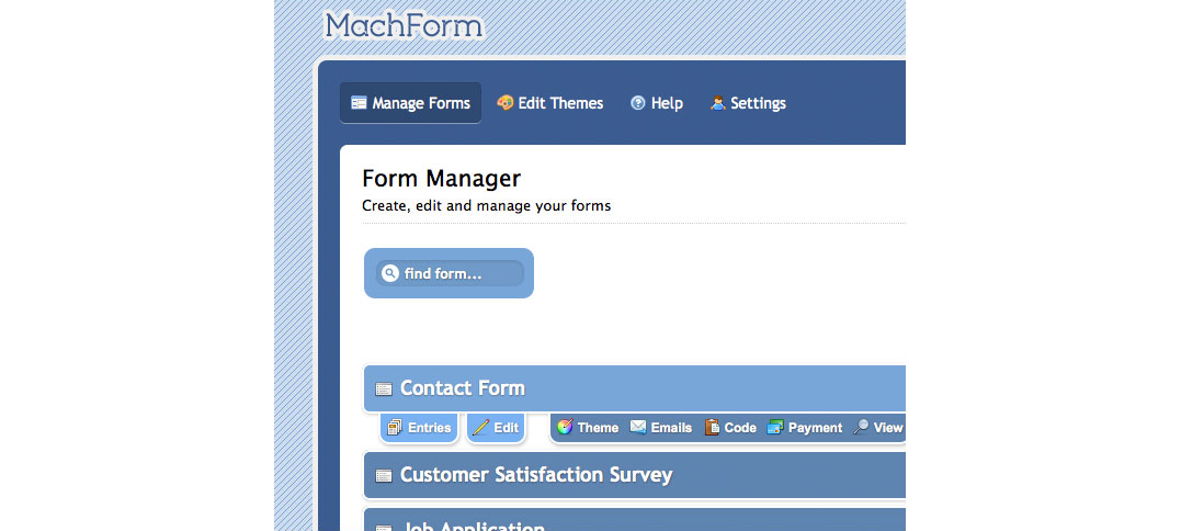 MachForm 3 Screenshot