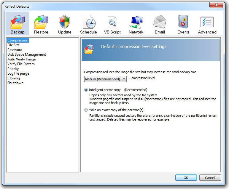 Security Software, Backup Disk Image Software Screenshot