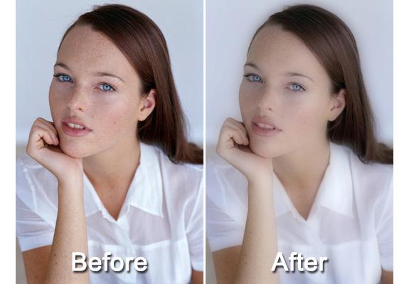 Photo Editing Software, Magic Skin Filter Screenshot